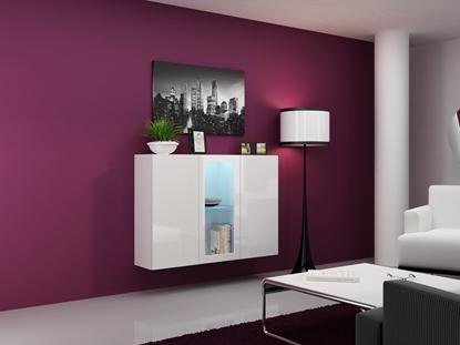 Изображение Cama Sideboard VIGO 90/120/38 white/white glossy