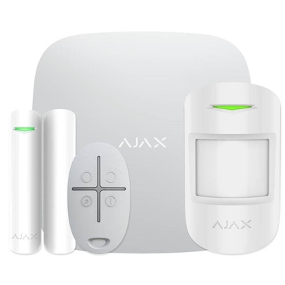 Picture of ALARM SECURITY STARTERKIT CAM/PLUS WHITE 20294 AJAX