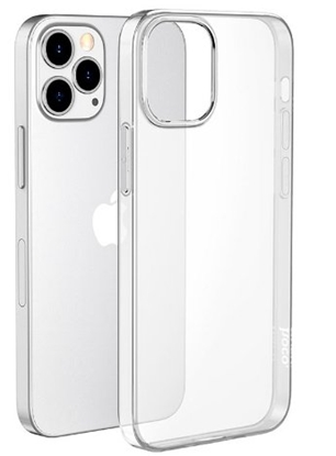 Picture of Mocco Ultra Back Case 0.3 mm Silicone Case for Apple iPhone 12 Pro Max Transparent