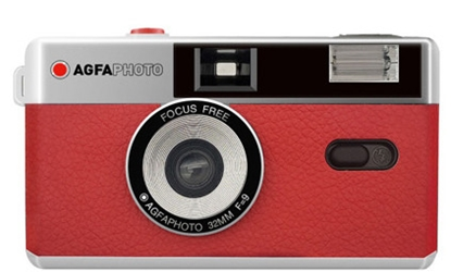 Picture of Agfaphoto Reusable Photo Camera 35mm red