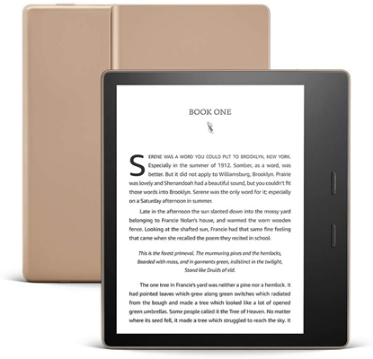Picture of Amazon Kindle Oasis 2019 32GB WiFi, golden