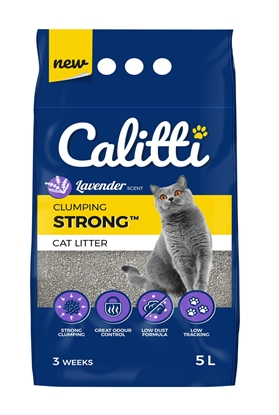 Picture of Calitti Strong Lavender - Bentonite litter 5 l