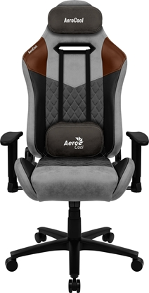 Picture of Aerocool DUKE AeroSuede Universal gaming chair Black, Brown, Grey