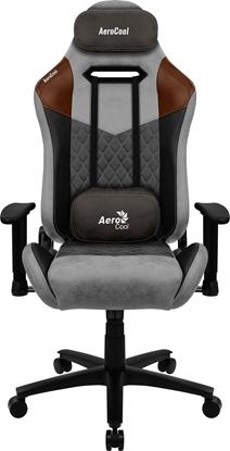 Изображение Aerocool DUKE AeroSuede Universal gaming chair Black, Brown, Grey