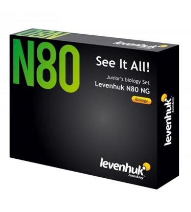 "Picture of Mikropreparātu komplekts paraugi 80 gab. Levenhuk N80 NG ""See it all"" Slides Set 66685"