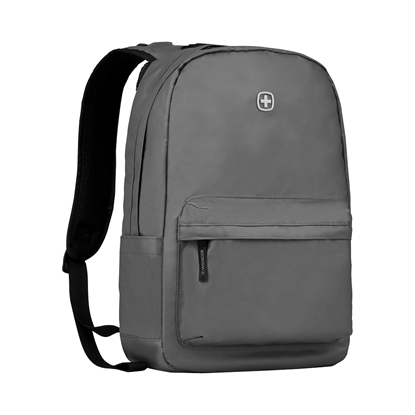 "Attēls no PHOTON 14"" LAPTOP COATED SECURITY BACKPACK WITH TABLET POCKET, Grey"