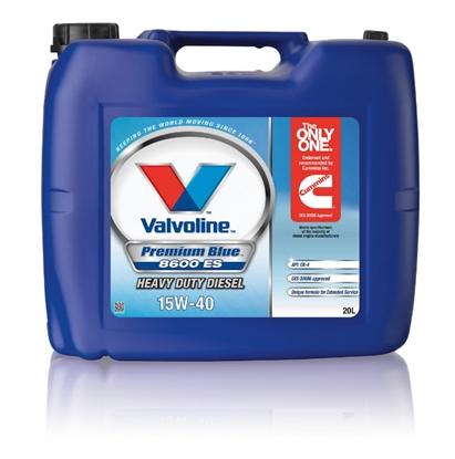 Изображение PREMIUM BLUE 8600 ES 15W40 20L, Valvoline