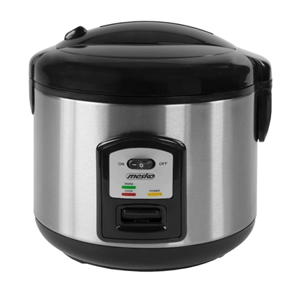 Attēls no Mesko MS 6411 rice cooker Black,Stainless steel 1000 W