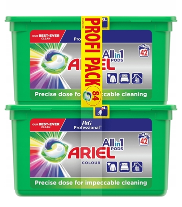 Изображение Ariel Color Washing Capsules 2x42 pcs