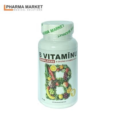 Изображение PMS Uztura bagātinātājs Vitamīns B complekss N30 tabletes