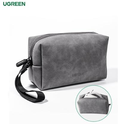 Изображение Ugreen Universāla somiņa dažādu priekšmetu glabāšanai (18x11.5x7.5cm) Pelēka
