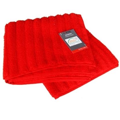 Picture of Dvielis frotē 50x100cm sarkans