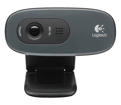 Picture of Logitech HD Webcam C270, Web camera colour, 1280 x 720, audio, USB 2.0