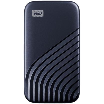 Attēls no SANDISK WD My Passport External SSD 1TB USB 3.2, Midnight Blue, 1050MB/s Read, 1000MB/s