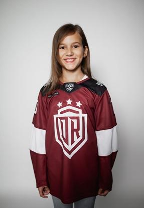 Attēls no Dinamo - FAN SHIRT FOR CHILDREN'S 6Y «DARZINS» Red