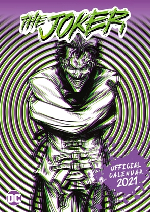 Изображение 2021 Calendar - The Joker, 30x40cm