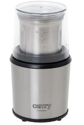 Picture of Camry Coffee Grinder CR 4444 200 W, Coffee beans capacity 75 g, Stainless steel/Black