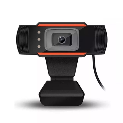 Picture of RoGer A7 Webcam HD 720P with Microphone Black