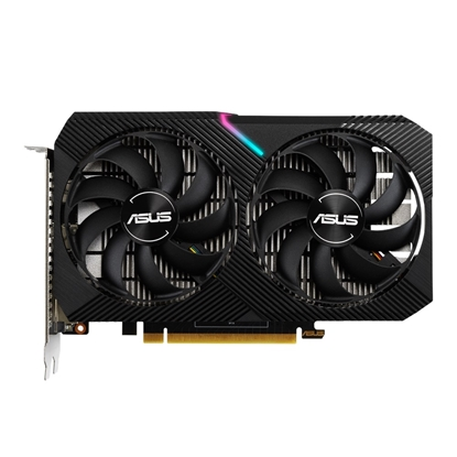 Attēls no ASUS Dual GeForce GTX 1650 MINI OC NVIDIA 4 GB GDDR6
