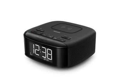 Attēls no Philips Clock Radio TAR7705/10, DAB+, Bluetooth®, With wireless phone charger 9W
