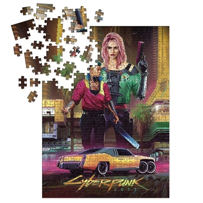 Picture of Cyberpunk 2077 - Kitsch Puzzle, 1000 Pieces