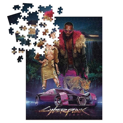 Picture of Cyberpunk 2077 - Neokitsch Puzzle, 1000 Pieces
