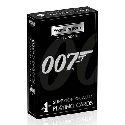 Picture of Playing Cards - James Bond 007