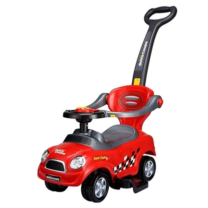 Attēls no EcoToys 3in1 Toy Car Pusher with Handle