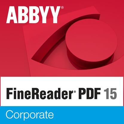 Изображение Abbyy FineReader 15 Corporate, Volume License (per Seat), 1 year(s), License quantity 11-25 user(s), Software Maintenance