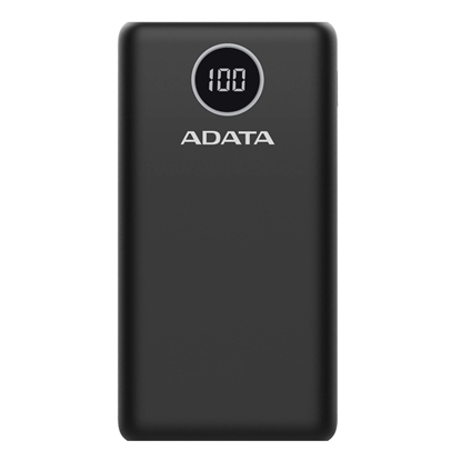 Picture of ADATA Power bank P20000QCD 20000 mAh, Li-Polymer, Black