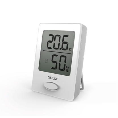 Picture of Duux Sense Hygrometer + Thermometer, White, LCD display