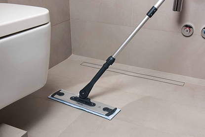 Picture of Polti Moppy Premium with sanitising base Cordless operating, Washing function, Black
