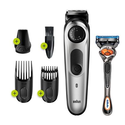 Изображение Braun All-in-one BT5260 beard trimmer Wet & Dry Grey