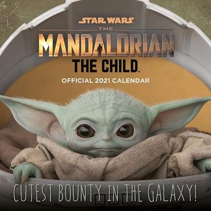 Изображение 2021 Calendar - Star Wars: The Mandalorian (Baby Yoda), 30x30cm