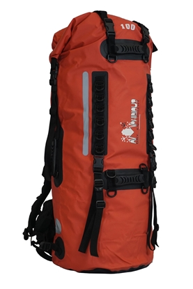 Attēls no AMPHIBIOUS WATERPROOF BACKPACK SHERPA 100L RED P/N: ZSF-6100.03