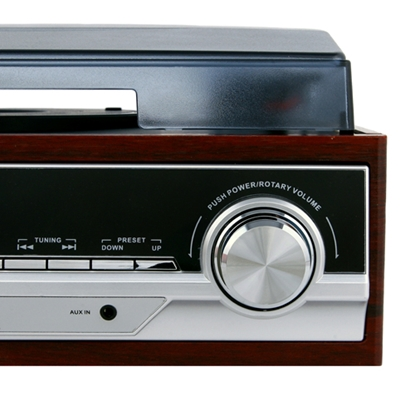 Picture of Camry Turntable CR 1168 Bluetooth, USB port, AUX in, Brown