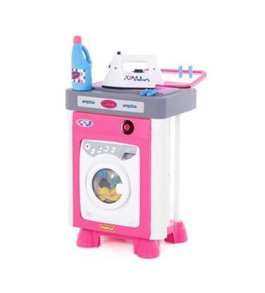 """Picture of Bērnu komplekts """"Carmen"""" ar veļas mašīnu ar piederumiem ar skaņu 46 cm PL57907"""