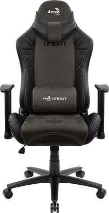 Picture of Aerocool KNIGHT AeroSuede Universal gaming chair Black