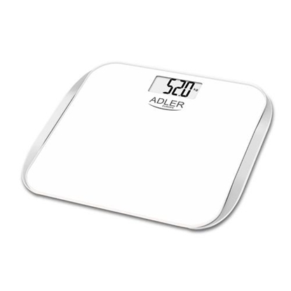 Изображение Adler AD 8164 personal scale Electronic postal scale Square Silver,White