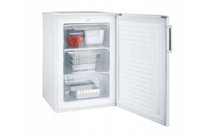 Attēls no Candy CCTUS 482WHN Freezer, A+, Free standing, Height 84 cm, Freezer net 60 L, White Candy Freezer CCTUS 482WHN Energy efficiency class F, Upright, Free standing, Height 84 cm, Total net capacity 64 L, White