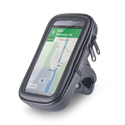 Picture of Forever BH-100XL Universal (9x16.5cm) Bike Handlebar Mount Smartphone / GPS Holder Black