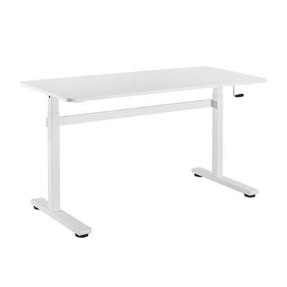 Attēls no Up Up Loki Adjustable Height Table, White