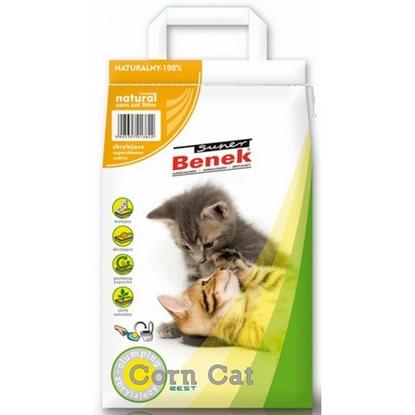 Изображение Certech Super Benek Corn Cat - Corn Cat Litter Clumping 14 l
