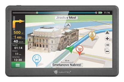 Attēls no Navitel GPS Navigation MS700 800 х 480 pixels, GPS (satellite), Maps included