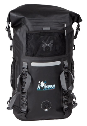 Attēls no AMPHIBIOUS WATERPROOF BACKPACK DISCOVERY 45L BLACK P/N: ZSA-7045.01