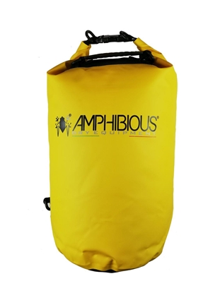 Attēls no AMPHIBIOUS WATERPROOF BAG TUBE 20L YELLOW P/N: TS-1020.04