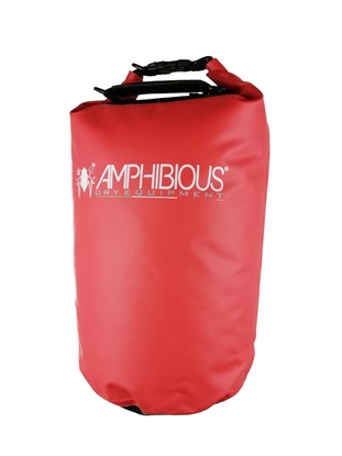 Attēls no AMPHIBIOUS WATERPROOF BAG TUBE 20L RED P/N: TS-1020.03