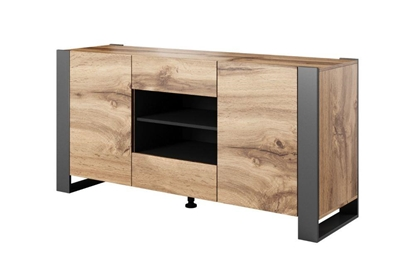 Изображение Cama chest of drawers WOOD wotan oak/antracite