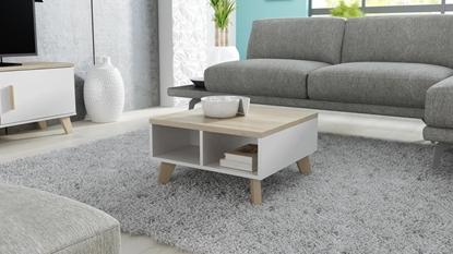 Picture of Cama LOTTA 60 coffe table white/sonoma oak