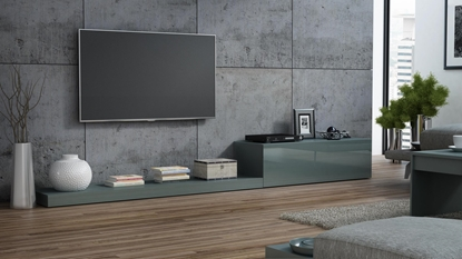 Picture of Cama TV stand LIFE 300/42/35 grey/grey gloss